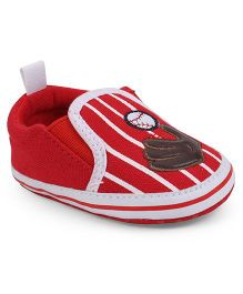 Cute Walk by Babyhug Shoes Style Booties - Red