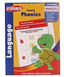 Playskool Kindergarten Learn Phonics Workbook - 32 Pages