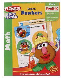 Playskool Pre K Dry Erase Learn Numbers Workbook