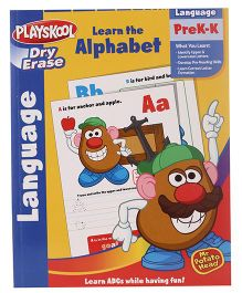 Playskool Pre K To Kindergarden Dry Erase Learn Alphabet Workbook