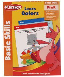Playskool Pre K To Kindergarten Learn Colors Workbook - 32 Pages