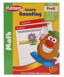 Playskool Pre K Learn Counting Workbook - 32 Pages