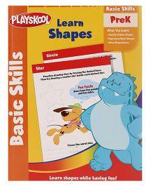 Playskool Pre K Learn Shapes Workbook - 32 Pages