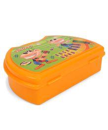 Jewel Lunch Box Rock Band Print - Orange