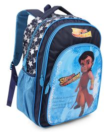 Chhota Bheem School Bag Blue - 14 Inch
