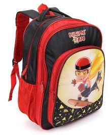 Chhota Bheem School Bag Black And Red - 18 Inch