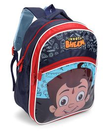 Chhota Bheem School Bag Blue And Red - 16 Inch