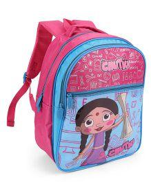 Chhota Bheem School Bag Pink And Blue - 12 Inch