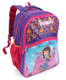 Chhota Bheem School Bag Indumati Print Pink - 14 inch