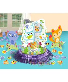 Bling It On Woodland Welcome Baby Table Decorating Kit - Multi Color