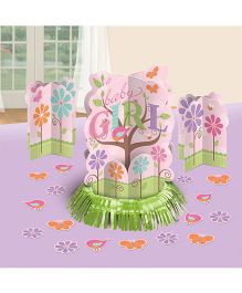 Bling It On Tweet Baby Girl Table Decorating Kit - Pink