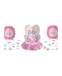 Bling It On Pink Little One Table Decorating Kit - Pink