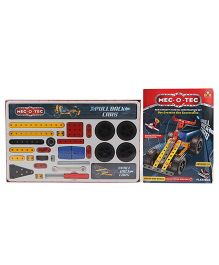 Toys Box Metal Construction Pull Back Cars 152 Pieces - Multicolor