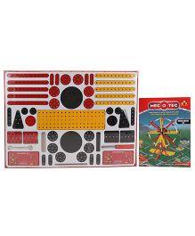 Toys Box Metal Construction Amusement Set 460 Pieces - Multicolor