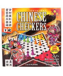 Toys Box Chinese Checkers - Multicolor