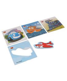 Toys Box Tickle with Puzzle Transport Series - Multicolor
