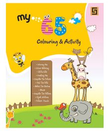 My 65 Colouring & Activity - English