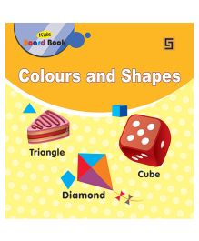 Small Board Book Colours And Shapes - English