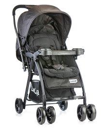 LuvLap Joy Baby Pram Cum Stroller 18310 - Black