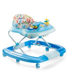 LuvLap Grand Baby Walker Cum Rocker - Blue