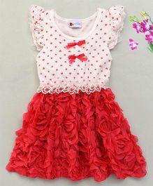 Adores Beautiful Rose Dress - Red