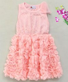 Adores Pretty Rose Dress - Light Pink