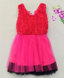 Adores Elegant Party Wear Dress - Pink
