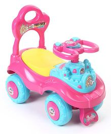 Barbie Foot To Floor Ride On Car - Pink