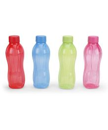 Tupperware Bottles 500 ML Multicolor - 4 Piece