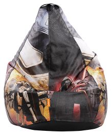 Orka Trooper & Darth Vadar Digital Printed Bean Bag Black - XL