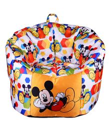 Orka Disney Micky Mouse Digital Printed Kids Boss Chair - Multicolor
