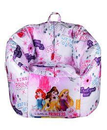 Orka Disney Princess Digital Printed Kids Boss Chair - Multicolor
