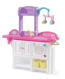 Step2 Love And Care Deluxe Kitchen Playset - Pink Purple White