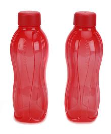 Tupperware Bottle Red Pack Of 2 - 500 ml