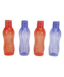 Tupperware Bottles 750 ml Flip Top - 4 Piece