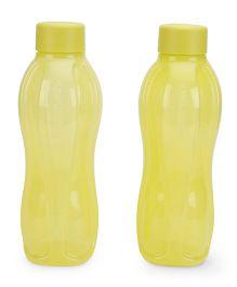 Tupperware Bottle Set Yellow Pack Of 2 - 1000 ML