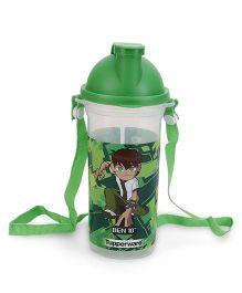 Tupperware Ben 10 School Bottle Green - 500 ML