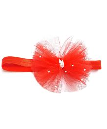 Reyas Accessories Pearly Headband - Red