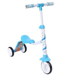 Chhota Bheem 2 In 1 Scooter - Blue