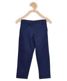 A Little Fable Full Length Trouser - Navy Blue