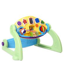 Little Tikes 5 In 1 Adjustable Gym - Green And Yellow