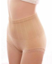 AARAM Tubular Tummy Tucker High Compression - Beige