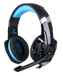 Kotion Each G9000 Gaming Headphones With Mic And LED - Black Blue