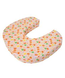 Comfeed Pillows By Nina Feeding Pillow Large - White & Multicolor