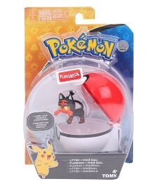 Pokemon Funskool Clip And Carry Poke Ball - White And Red