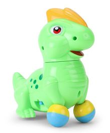 Baby Musical Toy Dinosaur Shape - Green