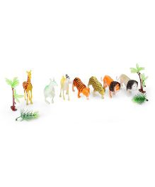 Wild Animals Set Pack Of 7 - Multi Color