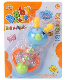 Baby Rattle Animal Shaped - Blue