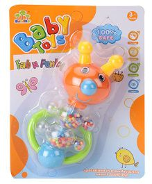 Baby Rattle Animal Shaped - Orange