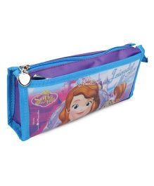 Disney Sofia the First Pencil Pouch - Blue & Purple